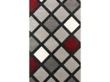 tapis shiny losanges 120x170 cm