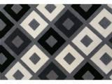 tapis trendy losanges 200x290 cm