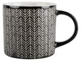 tasse black white