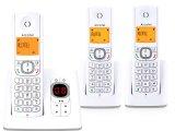 telephone fixe sans fil repondeur f530 voice trio alcatel f530 voice trio grey
