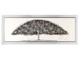 toile arbre 163x63 cm