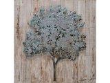 toile platane 80 x 80 cm