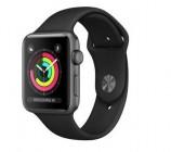 apple watch apple serie 3 gps 42mm boitier alu gris sideral