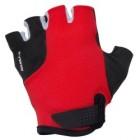 gants velo jr 500 rouge btwin