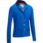 veste de concours equitation femme comp100 bleu roi fouganza