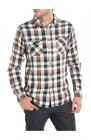 chemise regular homme manches longues