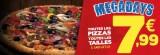 toutes les pizzas a emporter a 799