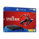 console de jeux sony ps4 slim 1 to spiderman