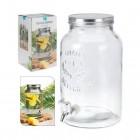 distributeur de boisson 55 litres avec robinet agrave visser