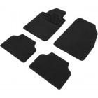 tapis moquette universel finition ganse noire x4
