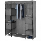 armoire dressing gris