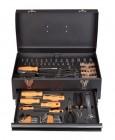 Caisse à outils en acier 119 pièces