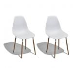 chaise arja blanche
