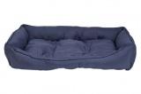 Couchage XL bleu pour chien