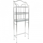 etagere wc grise