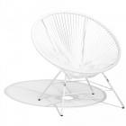 fauteuil design urban blanc