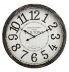 horloge vintage en bois