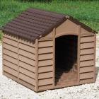 niche pour chien marron