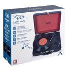 Platine vinyle Homday X-Pert rouge et noire