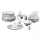 service vaisselle porcelaine 48 pieces