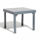 table a lattes rectangulaire extensible glasgow 4/8 personne