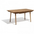table rectangulaire madeira extensible 6/8 personnes