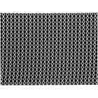 tapis design carreaux de ciment india noir et blanc