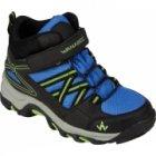 chaussure enfant wanabee trek 200 mid jr noir bleu