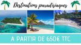 photo DESTINATIONS PARADISIAQUES A PARTIR DE 650€