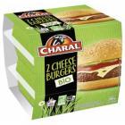 2 cheese burgers bio charal