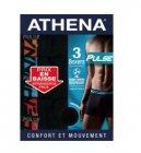 3 boxers ligne pulse athena
