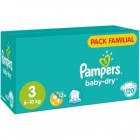 -80% sur le 2eme paquet de couches baby dry pampers