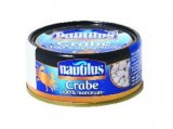 crabe 100 % morceaux nautilus