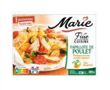 papillote de poulet pommes de terre et petits legumes marie