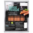saucisses vegetariennes veggie marche