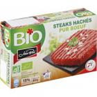 steaks haches pur buf bio surgeles bio jean roze