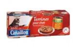 terrines pour chat adulte viandes et legumes canaillou