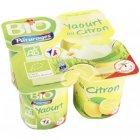 yaourt bio au citron paturages