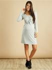 robe de grossesse droite