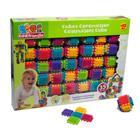 35 cubes a picots