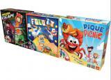 coffret 3 jeux pique picnic - fold it - mission escape