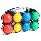 panier 8 boules de petanque en plastique