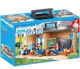 playmobil city life - salle de classe transportable