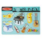 puzzle son 8 pieces instruments