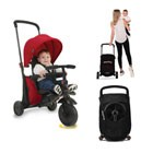 tricycle pliant smartfold 400 rouge
