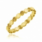 alliance en or jaune fantaisie etoiles 25 mm