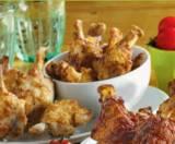 grignottes de poulet nature ou barbecue ou a la mexicaine
