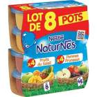 assortiment de pots fruits pour enfants naturnes