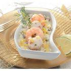 cassolette risotto crevettes et noix de saint-jacques