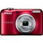 compact numerique nikon coolpix a10 rouge